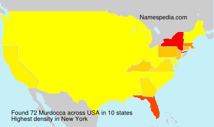 Familiennamen Murdocca - USA