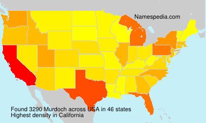 Surname Murdoch in USA