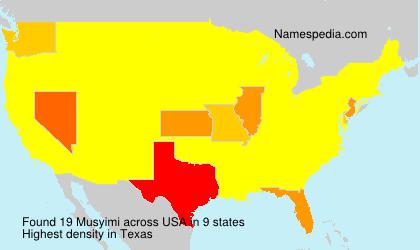 Musyimi - USA