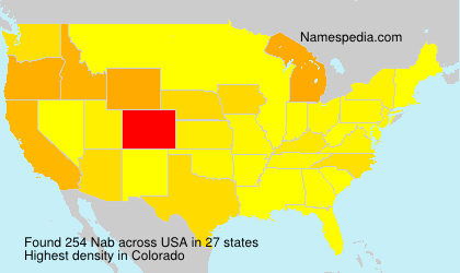 Nab - Names Encyclopedia