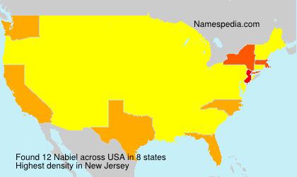 Familiennamen Nabiel - USA