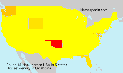 Surname Nabu in USA