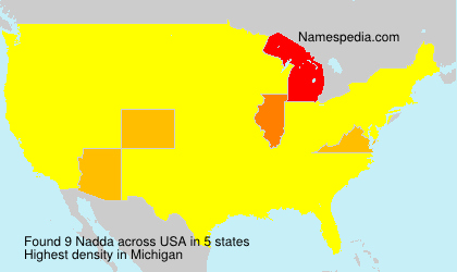 Surname Nadda in USA
