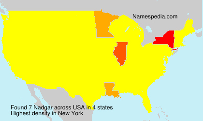 Surname Nadgar in USA