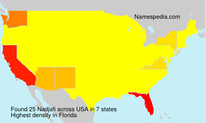 Surname Nadjafi in USA