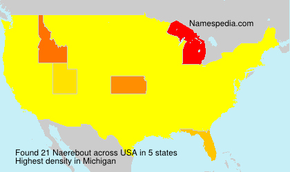 Surname Naerebout in USA