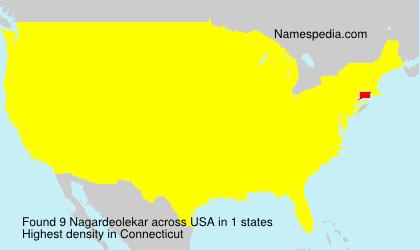 Surname Nagardeolekar in USA