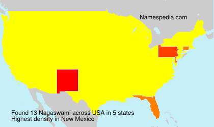Surname Nagaswami in USA