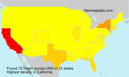 Surname Naghi in USA