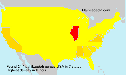 Surname Naghibzadeh in USA