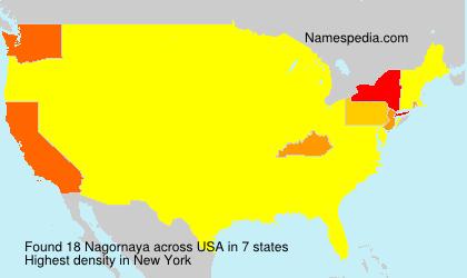 Surname Nagornaya in USA