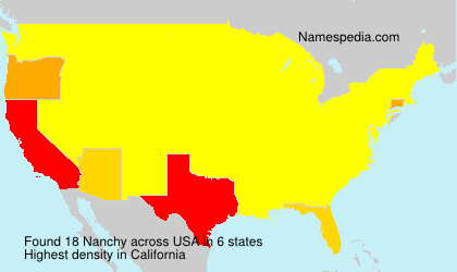Surname Nanchy in USA