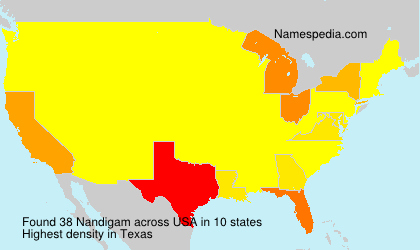 Surname Nandigam in USA