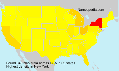 Surname Napierala in USA
