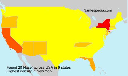 Surname Nasef in USA