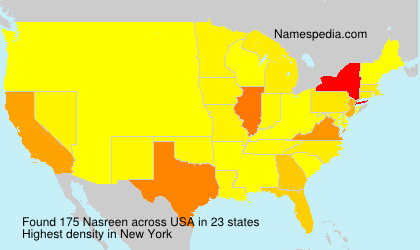 Surname Nasreen in USA