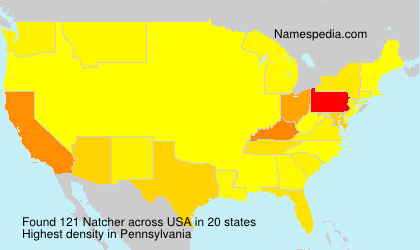 Surname Natcher in USA