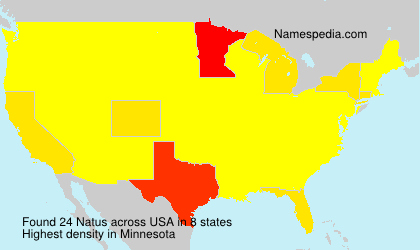 Surname Natus in USA