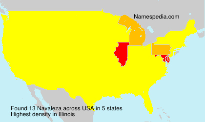 Surname Navaleza in USA