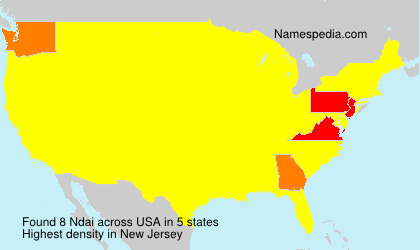 Surname Ndai in USA