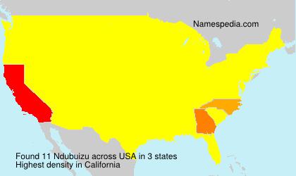 Surname Ndubuizu in USA