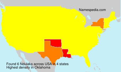 Surname Ndulaka in USA