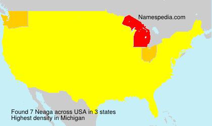 Surname Neaga in USA
