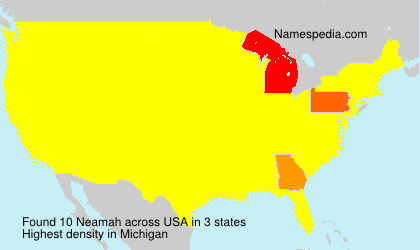 Surname Neamah in USA