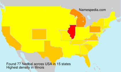 Surname Nedbal in USA