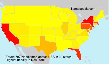 Needleman names encyclopedia for Doris middleman