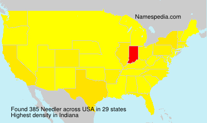 Surname Needler in USA