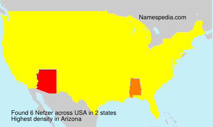 Surname Nefzer in USA