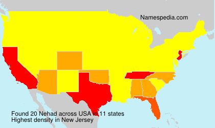 Surname Nehad in USA