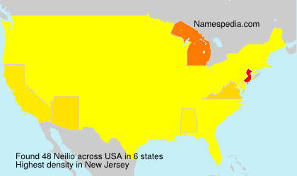 Surname Neilio in USA