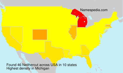 Surname Neithercut in USA