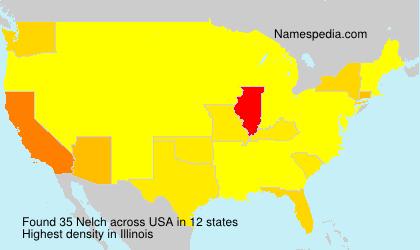 Surname Nelch in USA
