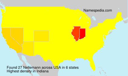 Surname Nellemann in USA