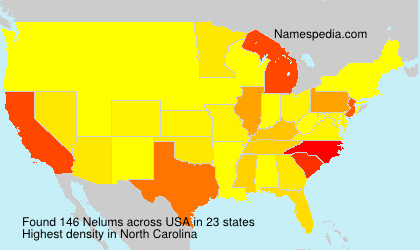 Surname Nelums in USA