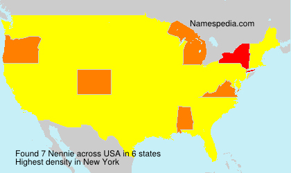 Surname Nennie in USA