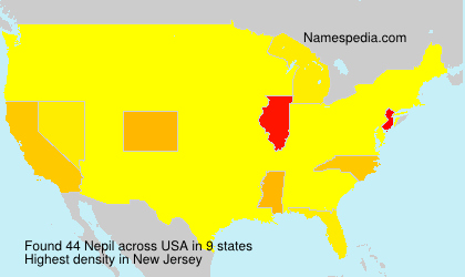 Surname Nepil in USA