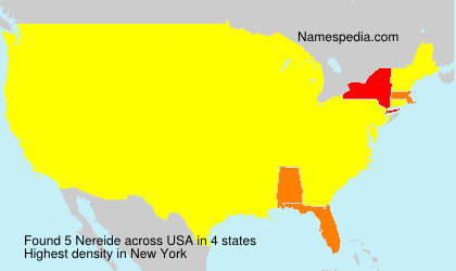 Surname Nereide in USA