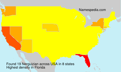 Surname Nerguizian in USA