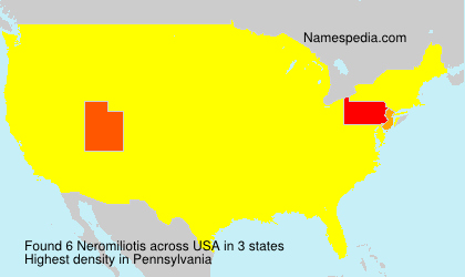 Surname Neromiliotis in USA