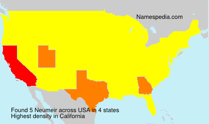 Surname Neumeir in USA