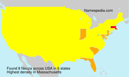 Surname Neuza in USA