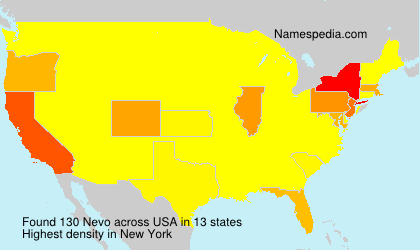Surname Nevo in USA