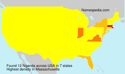 Surname Nganda in USA