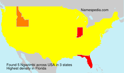 Surname Ngazimbi in USA