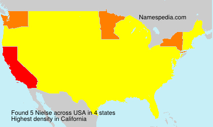 Surname Nielse in USA