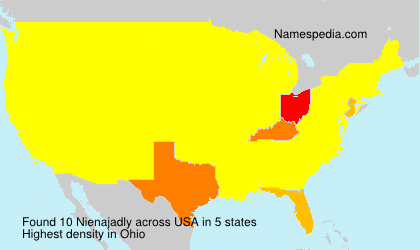 Surname Nienajadly in USA